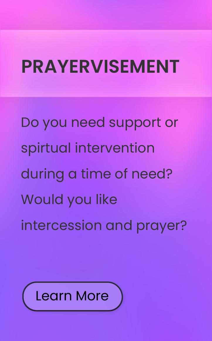 Prayervisement