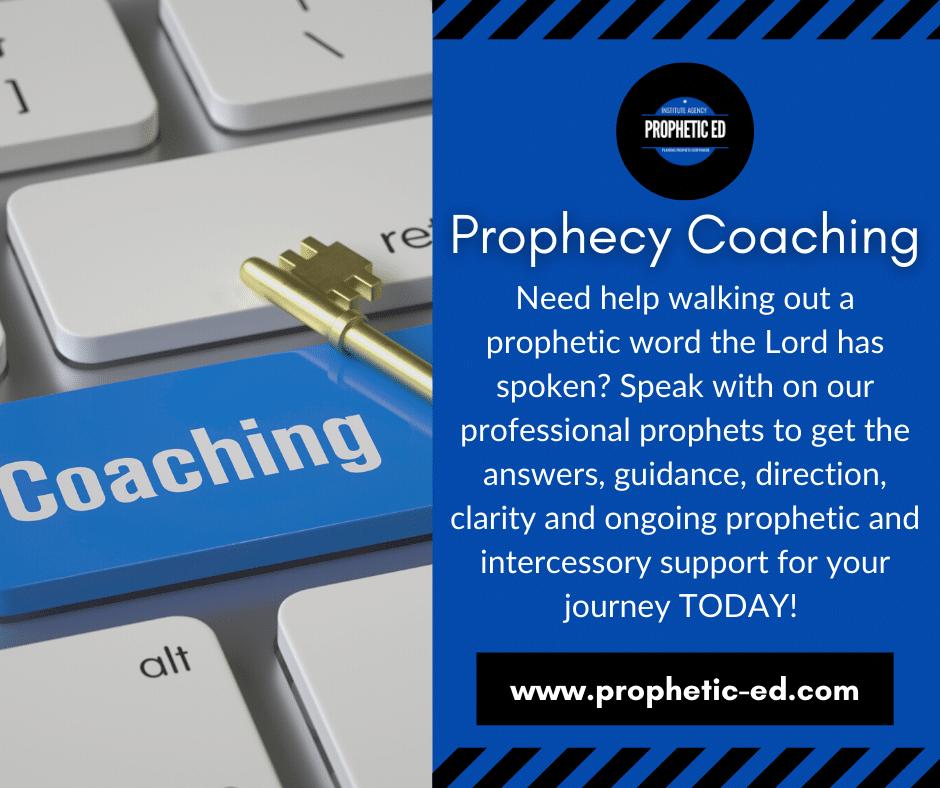 Prophetic Coaching